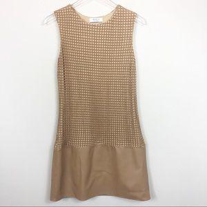 Bailey 44 | 'Sabi Sand' Mesh Overlay Sheath Dress